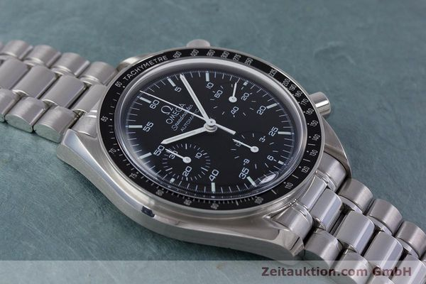 Used luxury watch Omega Speedmaster chronograph steel automatic Kal. 3220A  | 160065 15