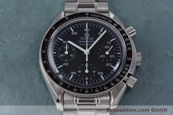 Used luxury watch Omega Speedmaster chronograph steel automatic Kal. 3220A  | 160065 16