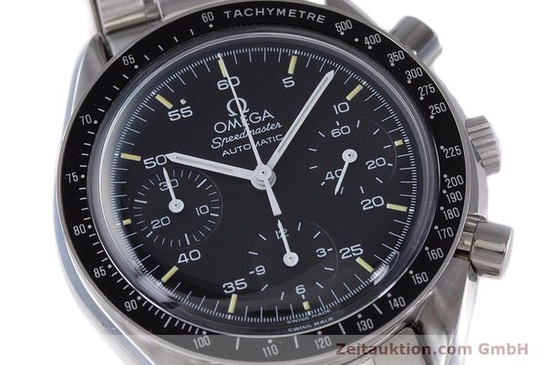 Used luxury watch Omega Speedmaster chronograph steel automatic Kal. 1140 ETA 2890-2  | 160069 02
