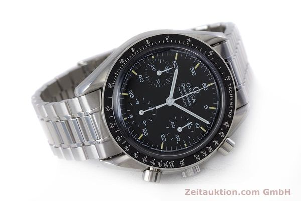 Used luxury watch Omega Speedmaster chronograph steel automatic Kal. 1140 ETA 2890-2  | 160069 03
