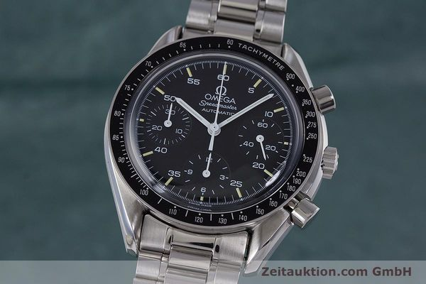 Used luxury watch Omega Speedmaster chronograph steel automatic Kal. 1140 ETA 2890-2  | 160069 04