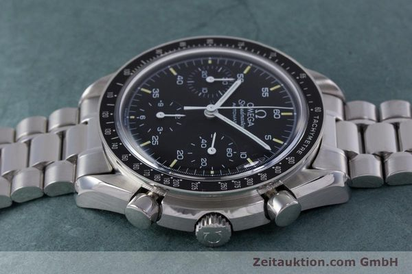 Used luxury watch Omega Speedmaster chronograph steel automatic Kal. 1140 ETA 2890-2  | 160069 05