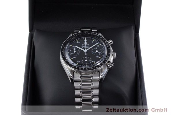 Used luxury watch Omega Speedmaster chronograph steel automatic Kal. 1140 ETA 2890-2  | 160069 07