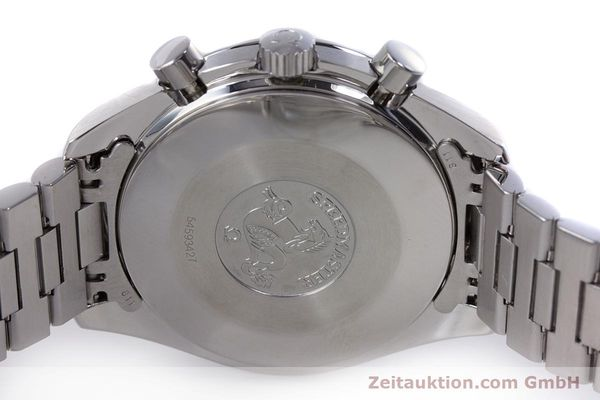 Used luxury watch Omega Speedmaster chronograph steel automatic Kal. 1140 ETA 2890-2  | 160069 08