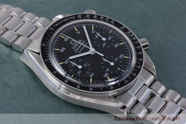 Used luxury watch Omega Speedmaster chronograph steel automatic Kal. 1140 ETA 2890-2  | 160069 15