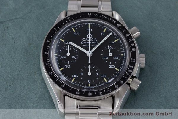 Used luxury watch Omega Speedmaster chronograph steel automatic Kal. 1140 ETA 2890-2  | 160069 16