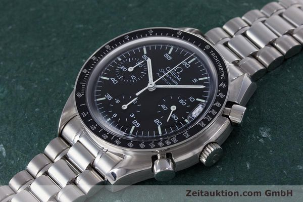 Used luxury watch Omega Speedmaster chronograph steel automatic Kal. 3220A  | 160072 01