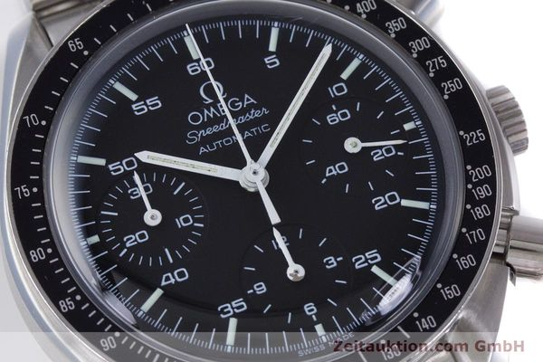 Used luxury watch Omega Speedmaster chronograph steel automatic Kal. 3220A  | 160072 02