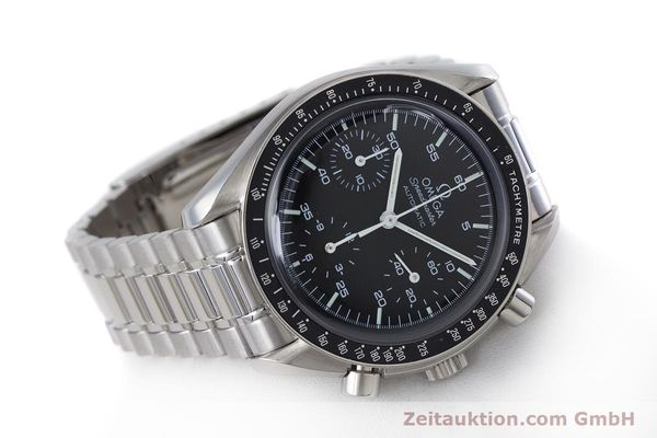 Used luxury watch Omega Speedmaster chronograph steel automatic Kal. 3220A  | 160072 03