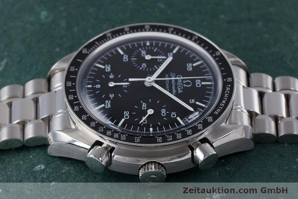 Used luxury watch Omega Speedmaster chronograph steel automatic Kal. 3220A  | 160072 05