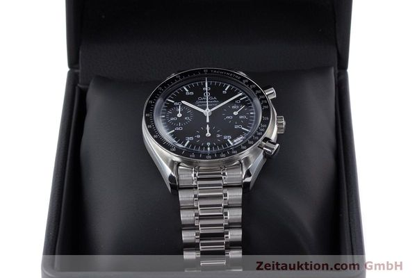 Used luxury watch Omega Speedmaster chronograph steel automatic Kal. 3220A  | 160072 07