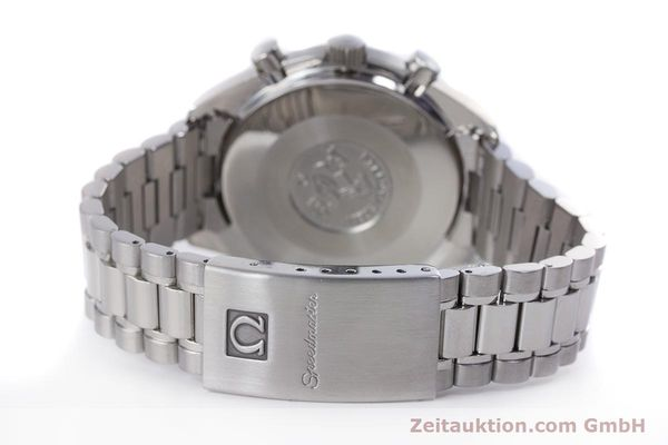 Used luxury watch Omega Speedmaster chronograph steel automatic Kal. 3220A  | 160072 12