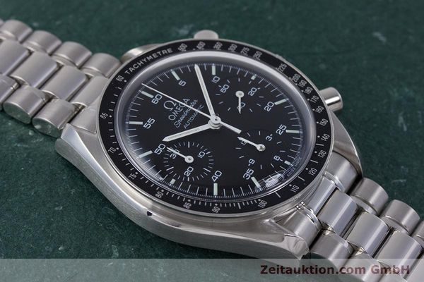 Used luxury watch Omega Speedmaster chronograph steel automatic Kal. 3220A  | 160072 14