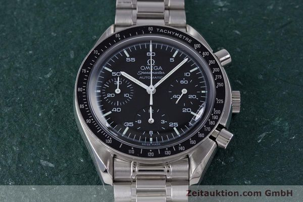 Used luxury watch Omega Speedmaster chronograph steel automatic Kal. 3220A  | 160072 15