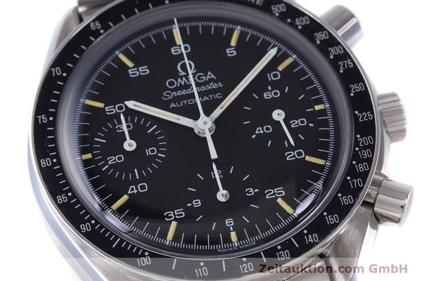 Used luxury watch Omega Speedmaster chronograph steel automatic Kal. 1140 ETA 2890-2  | 160073 02