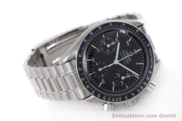 Used luxury watch Omega Speedmaster chronograph steel automatic Kal. 1140 ETA 2890-2  | 160073 03