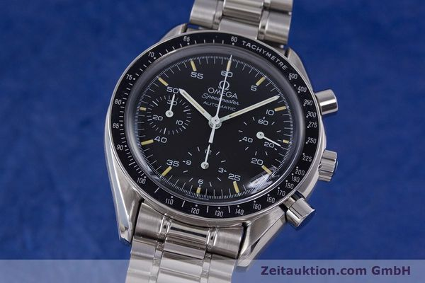 Used luxury watch Omega Speedmaster chronograph steel automatic Kal. 1140 ETA 2890-2  | 160073 04
