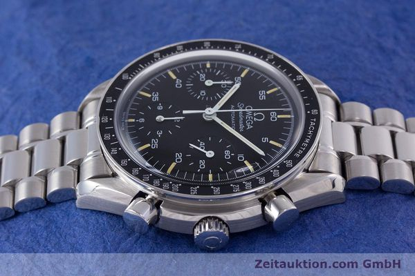 Used luxury watch Omega Speedmaster chronograph steel automatic Kal. 1140 ETA 2890-2  | 160073 05