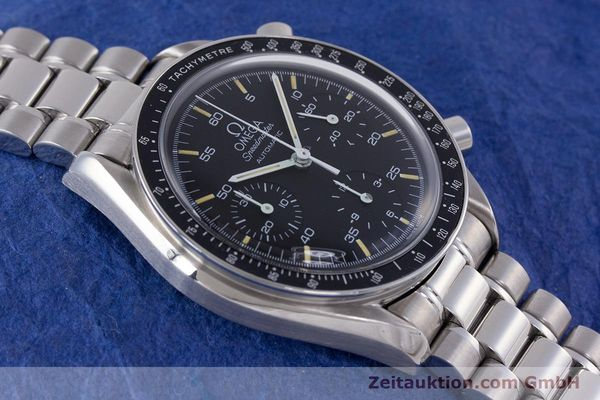 Used luxury watch Omega Speedmaster chronograph steel automatic Kal. 1140 ETA 2890-2  | 160073 14