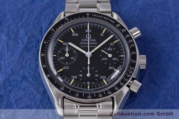 Used luxury watch Omega Speedmaster chronograph steel automatic Kal. 1140 ETA 2890-2  | 160073 15