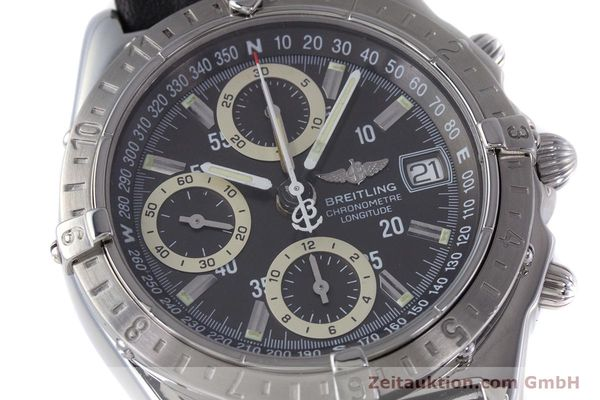 Used luxury watch Breitling Longitude chronograph steel automatic Kal. B20 ETA 7750 Ref. A20348  | 160075 02