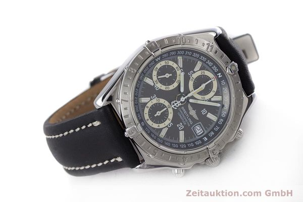 Used luxury watch Breitling Longitude chronograph steel automatic Kal. B20 ETA 7750 Ref. A20348  | 160075 03
