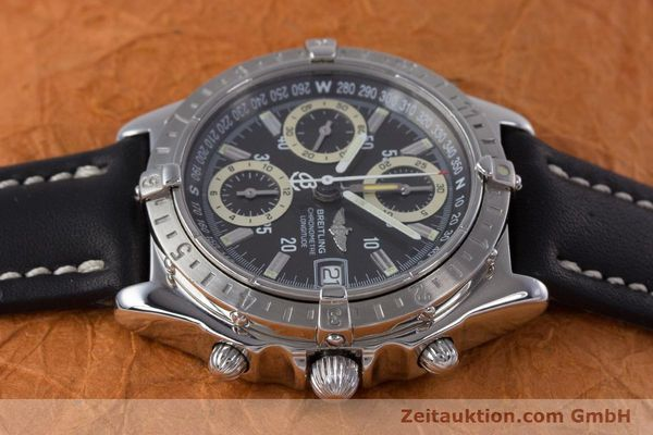 Used luxury watch Breitling Longitude chronograph steel automatic Kal. B20 ETA 7750 Ref. A20348  | 160075 05