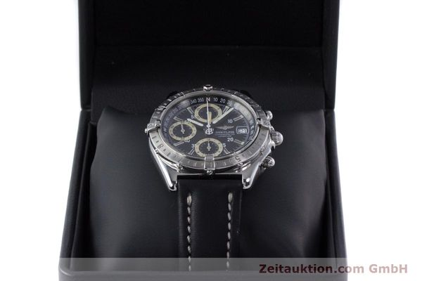 Used luxury watch Breitling Longitude chronograph steel automatic Kal. B20 ETA 7750 Ref. A20348  | 160075 07