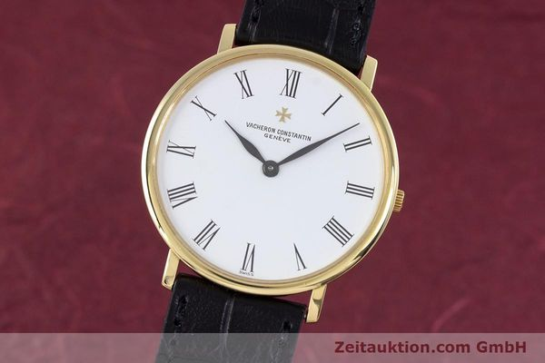 Used luxury watch Vacheron & Constantin * 18 ct gold manual winding Kal. 1003/2 Ref. 33060  | 160078 04