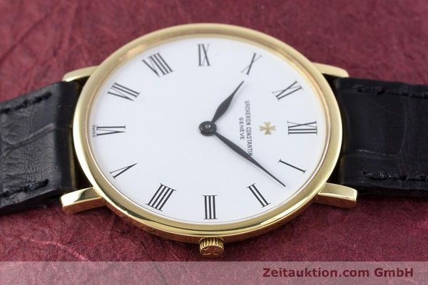 Used luxury watch Vacheron & Constantin * 18 ct gold manual winding Kal. 1003/2 Ref. 33060  | 160078 05