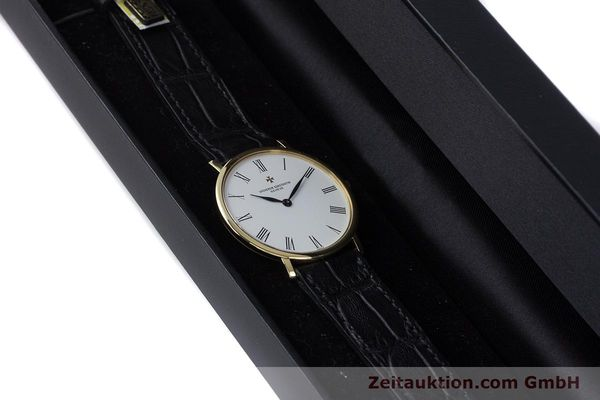 Used luxury watch Vacheron & Constantin * 18 ct gold manual winding Kal. 1003/2 Ref. 33060  | 160078 07