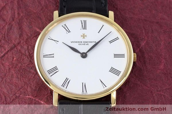 Used luxury watch Vacheron & Constantin * 18 ct gold manual winding Kal. 1003/2 Ref. 33060  | 160078 14