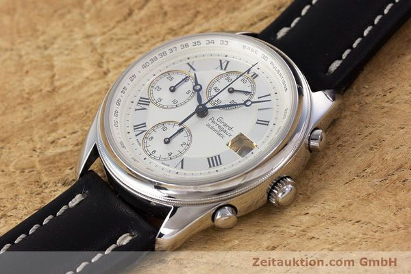 Used luxury watch Girard Perregaux Olimpico chronograph steel automatic Kal. 800-064 Ref. 4900  | 160082 01