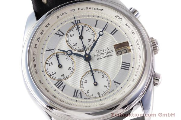 Used luxury watch Girard Perregaux Olimpico chronograph steel automatic Kal. 800-064 Ref. 4900  | 160082 02