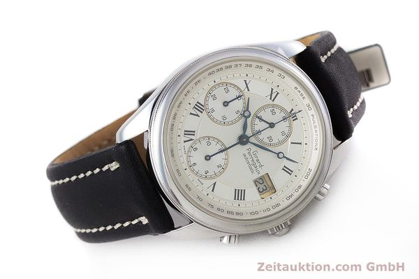Used luxury watch Girard Perregaux Olimpico chronograph steel automatic Kal. 800-064 Ref. 4900  | 160082 03