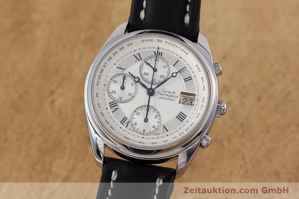 Used luxury watch Girard Perregaux Olimpico chronograph steel automatic Kal. 800-064 Ref. 4900  | 160082 04