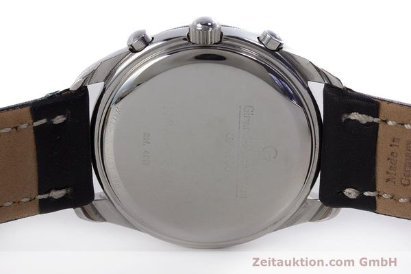 Used luxury watch Girard Perregaux Olimpico chronograph steel automatic Kal. 800-064 Ref. 4900  | 160082 09