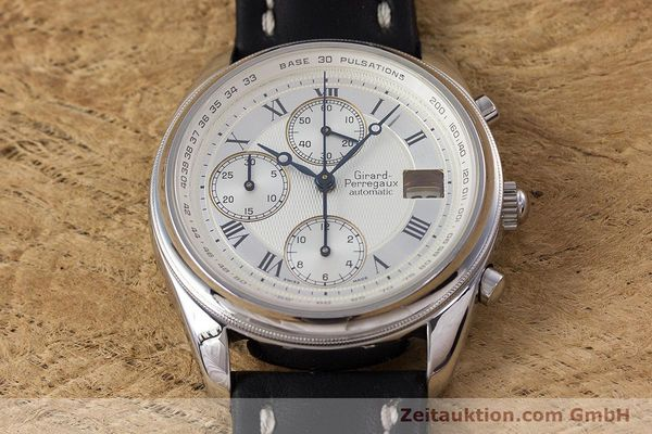 Used luxury watch Girard Perregaux Olimpico chronograph steel automatic Kal. 800-064 Ref. 4900  | 160082 13