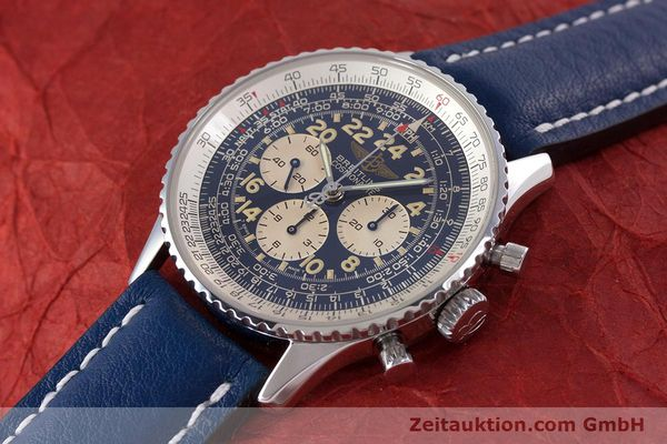 Used luxury watch Breitling Navitimer chronograph steel manual winding Kal. LWO1873 Ref. A12022  | 160086 01