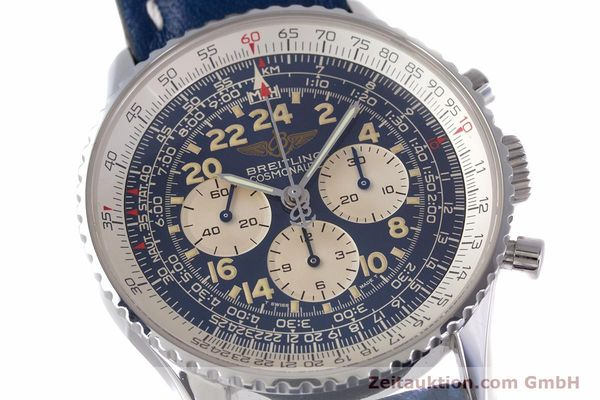 Used luxury watch Breitling Navitimer chronograph steel manual winding Kal. LWO1873 Ref. A12022  | 160086 02
