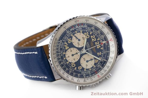 Used luxury watch Breitling Navitimer chronograph steel manual winding Kal. LWO1873 Ref. A12022  | 160086 03