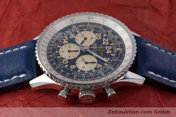 Used luxury watch Breitling Navitimer chronograph steel manual winding Kal. LWO1873 Ref. A12022  | 160086 05