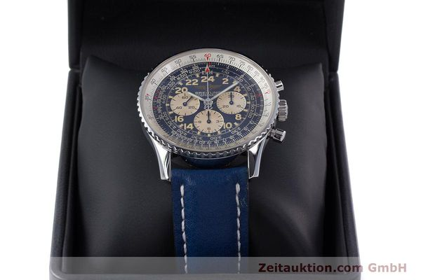 Used luxury watch Breitling Navitimer chronograph steel manual winding Kal. LWO1873 Ref. A12022  | 160086 07