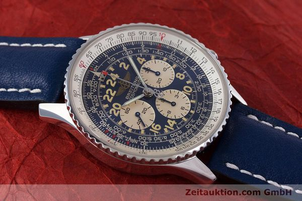 Used luxury watch Breitling Navitimer chronograph steel manual winding Kal. LWO1873 Ref. A12022  | 160086 14