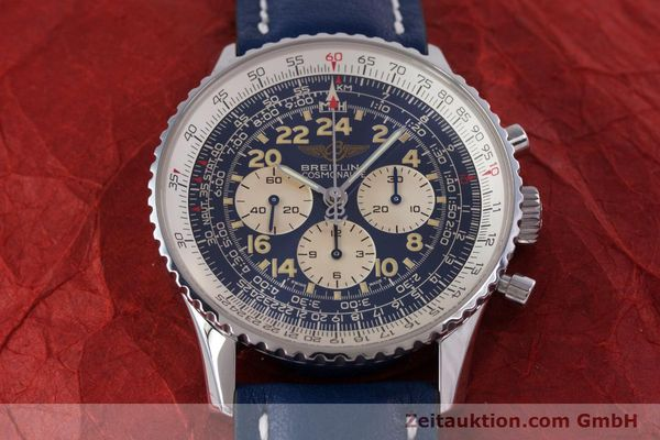 Used luxury watch Breitling Navitimer chronograph steel manual winding Kal. LWO1873 Ref. A12022  | 160086 15