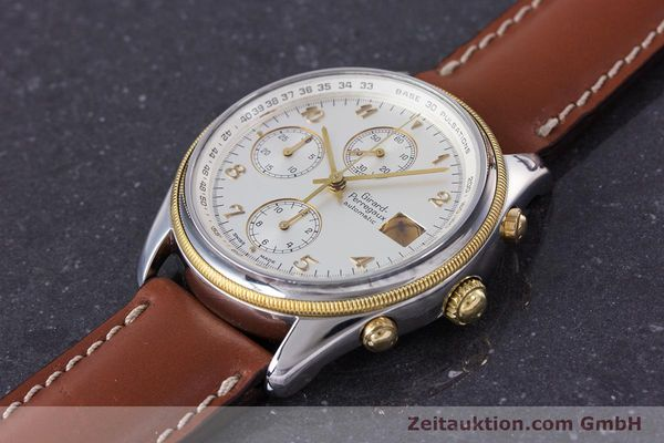 Used luxury watch Girard Perregaux Olimpico chronograph steel / gold automatic Kal. 800-964 Ref. 4900  | 160089 01