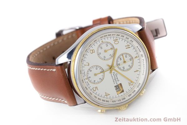 Used luxury watch Girard Perregaux Olimpico chronograph steel / gold automatic Kal. 800-964 Ref. 4900  | 160089 03