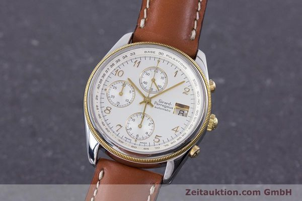 Used luxury watch Girard Perregaux Olimpico chronograph steel / gold automatic Kal. 800-964 Ref. 4900  | 160089 04