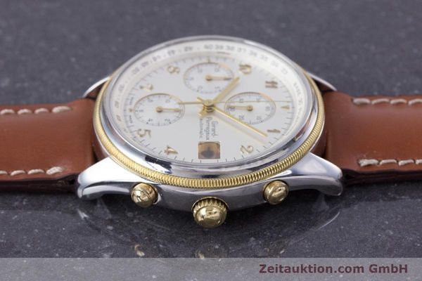 Used luxury watch Girard Perregaux Olimpico chronograph steel / gold automatic Kal. 800-964 Ref. 4900  | 160089 05