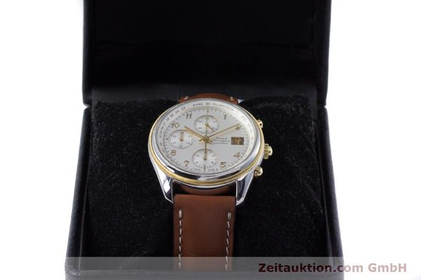 Used luxury watch Girard Perregaux Olimpico chronograph steel / gold automatic Kal. 800-964 Ref. 4900  | 160089 07